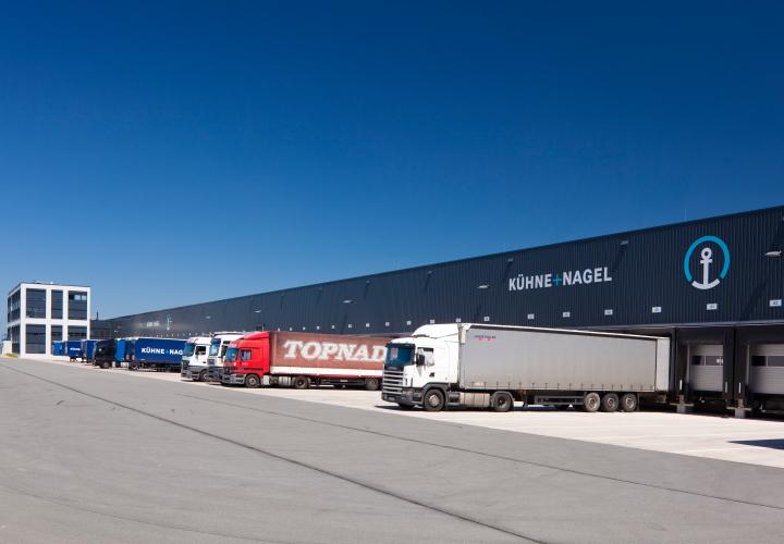 New logistics property, Ludwig-Erhard-Allee, Bielefeld