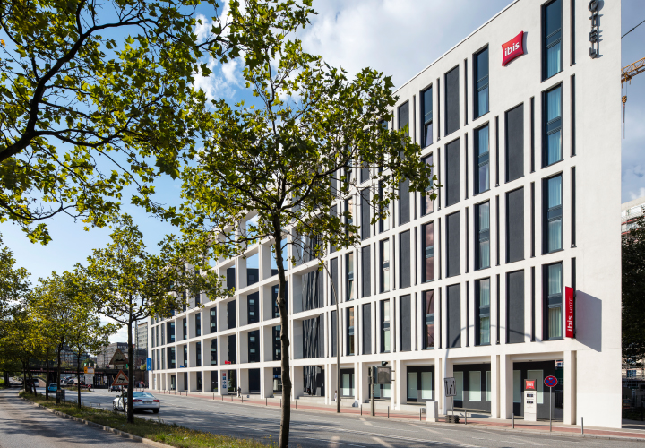 New building: Hotel Amsinckstraße, Hamburg
