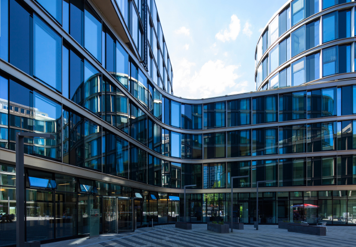 New office building, Lübeckertordamm, Hamburg