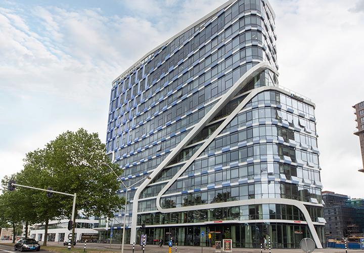 Commercial Building, Beethovenstraat 400 in Amsterdam, Netherlands