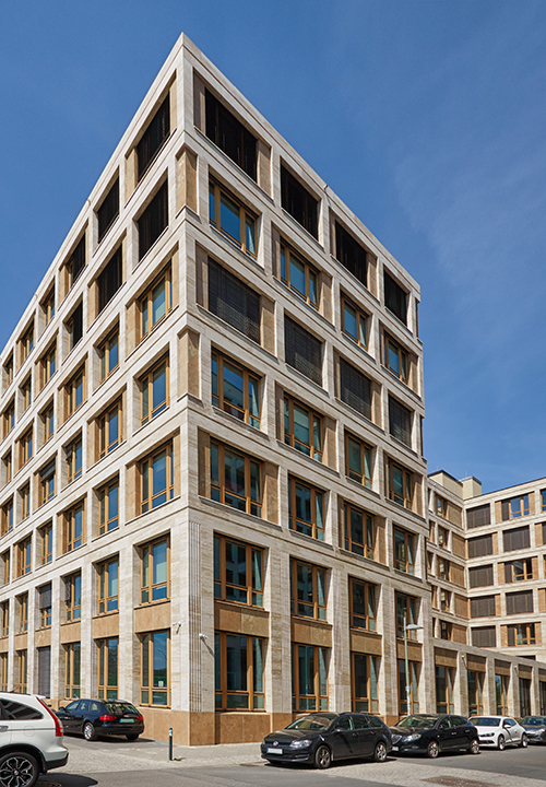 Commercial Building, East Side Office, Mühlenstrasse in Berlin, Germany