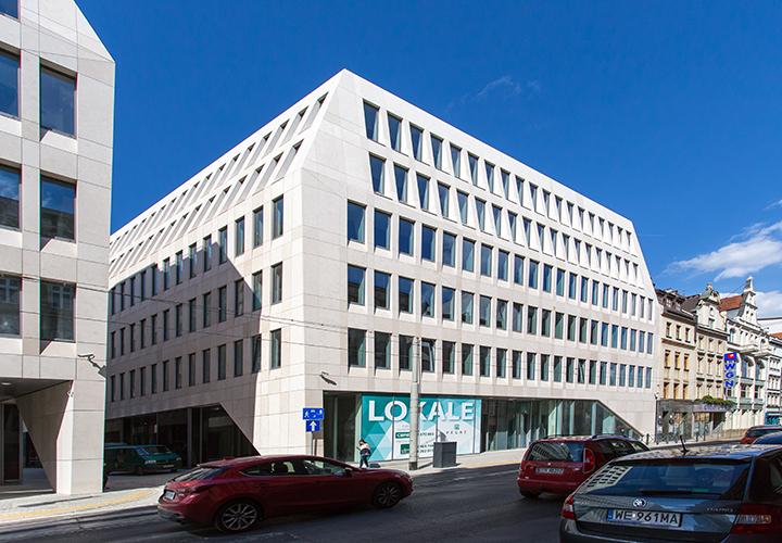 """Büro- und Geschäftshaus Kazimierza Wielkiego """"Pegaz"""" in Breslau, Polen - HIH Real Estate (HIH-Gruppe)"""