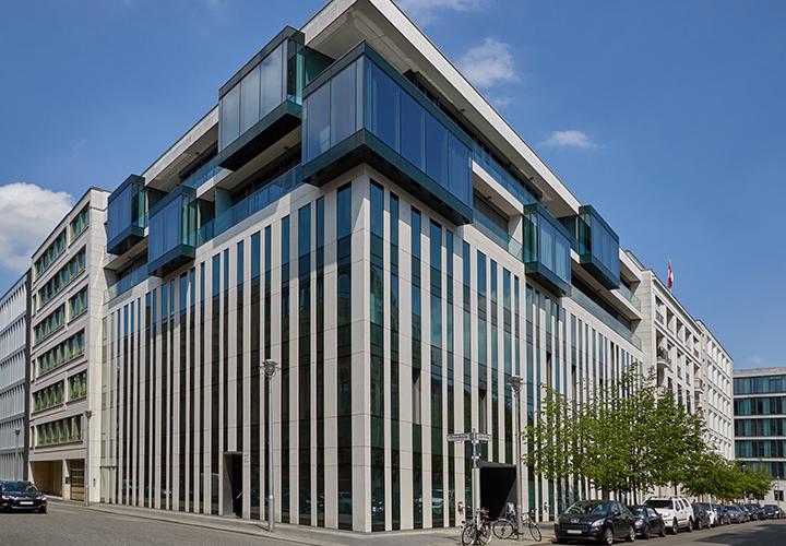 Büroimmobilie Quartier am Auswärtigen Amt (QAA), Oberwallstraße in Berlin, Deutschland - HIH Real Estate (HIH-Gruppe)