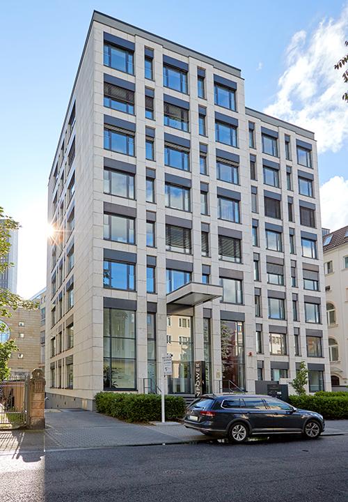 Büroimmobilie Schumannstraße in Frankfurt am Main, Deutschland - HIH Real Estate (HIH-Gruppe)