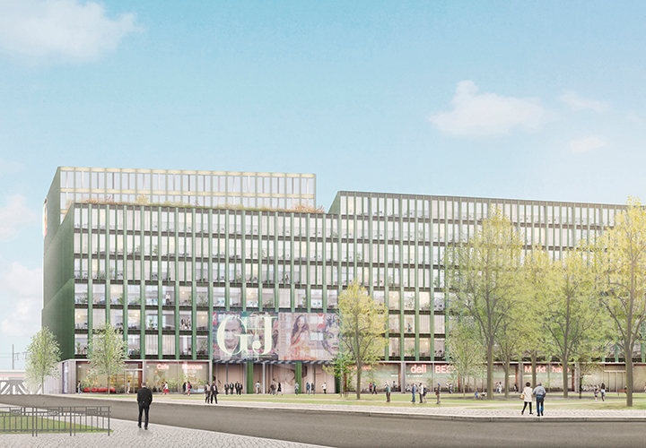 Current project: New headquarters for Gruner + Jahr, Hamburg