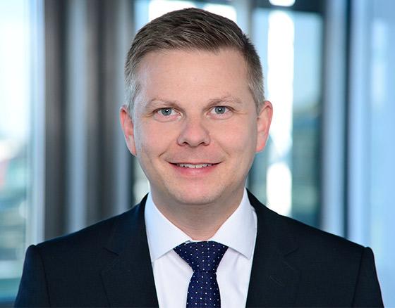Portraitfoto von Alexander Eggert, Geschäftsführer Warburg-HIH Invest