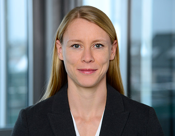Portrait of Susanne Edelmann, Head of Corporate Communication