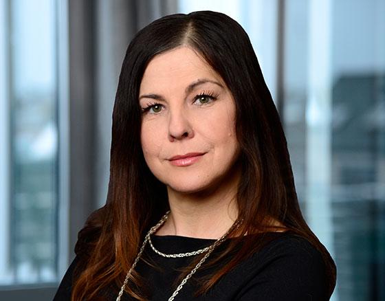 Portraitfoto von Sandra Quellhorst, Stellv. Leiterin Unternehmenskommunikation